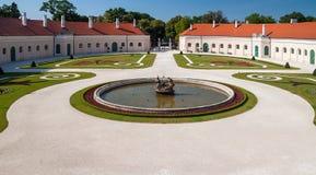 Замок Esterhazy в Fertod, Венгрии Стоковое Фото