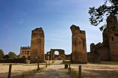 Замок Fasilides, Gondar Стоковое Изображение