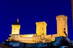 Замок Foix стоковое изображение