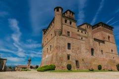 Замок Fossano, Стоковые Фотографии RF