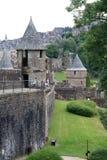 Замок, Fougeres, Бретань, Франция стоковые фото