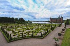 Замок Frederiksborg Замок Frederiksborg, или довольно дворец расположенный в Дании стоковая фотография rf