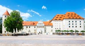 Замок Freudenstein Freiberg Стоковые Фотографии RF