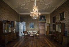 Замок Friedenstein в Gotha Стоковые Фото