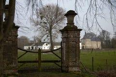 Замок Genhoes, Oud Valkenburg, лимбург, Нидерланды Стоковые Фото