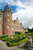 Замок Glamis, Шотландия Стоковое Изображение