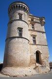 Замок Gordes стоковое фото rf