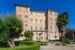 Замок Govone королевский, Пьемонт северная Италия Стоковые Изображения RF