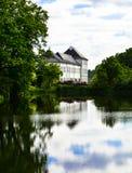Замок Graasten, Дания Стоковое Изображение RF
