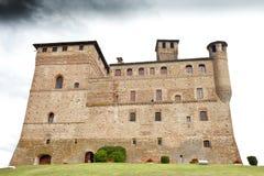 Замок Grinzane Cavour стоковые изображения rf
