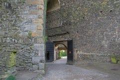 Замок Grodziec - строб стоковая фотография rf