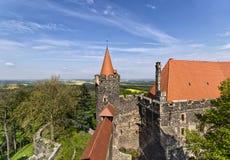 Замок Grodziec стоковые фотографии rf