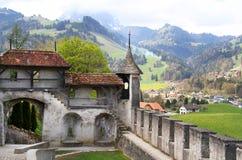 Замок Gruyère стоковое изображение