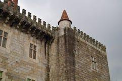 замок guimaraes Португалия стоковая фотография rf