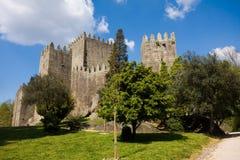 Замок Guimaraes Стоковая Фотография RF