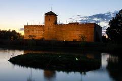 Замок Gyula в южной Венгрии Стоковая Фотография