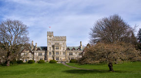 Замок Hatley, Канада Стоковое Изображение