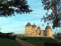 Замок Hautefort замка в Франции Стоковая Фотография