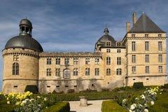 Замок Hautefort Dordogne Франция Стоковая Фотография RF