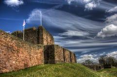 Замок HDR Карлайла стоковые фотографии rf