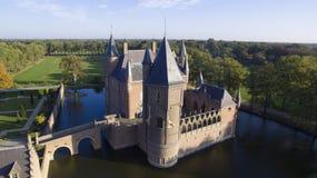 Замок Heeswijk стоковые фотографии rf