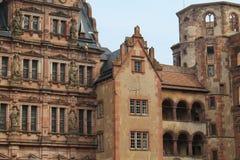 Замок Heidleberg, Гейдельберг, Германия Стоковые Изображения
