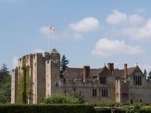 Замок Hever - Кент Стоковое Изображение RF