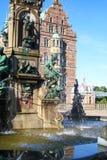 Замок Hillerod стоковое изображение rf
