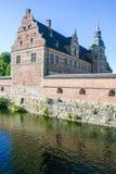 Замок Hillerod стоковые изображения rf