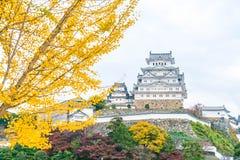 Замок Himeji в префектуре Hyogo, Японии, всемирном наследии ЮНЕСКО Стоковые Фото