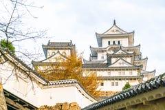 Замок Himeji в префектуре Hyogo, Японии, всемирном наследии ЮНЕСКО Стоковые Фотографии RF