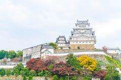 Замок Himeji в префектуре Hyogo, Японии, всемирном наследии ЮНЕСКО Стоковое фото RF