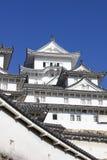 Замок Himeji в префектуре Hyogo, Японии Стоковое Изображение RF