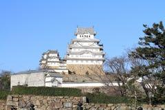 Замок Himeji в Himeji Стоковые Изображения RF