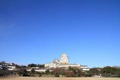 Замок Himeji в Himeji Стоковое Изображение RF