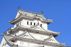 Замок Himeji в Himeji Стоковые Фотографии RF