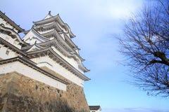Замок Himeji в Himeji, Hyogo Стоковые Фотографии RF