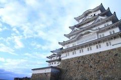Замок Himeji в Himeji, Hyogo Стоковое Изображение RF