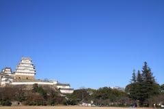 Замок Himeji в Himeji, Hyogo Стоковые Изображения RF