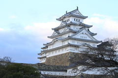 Замок Himeji в Himeji, Hyogo Стоковое Фото