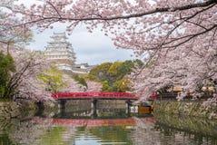 Замок Himeji в hyogo, kansai, Японии Стоковое фото RF