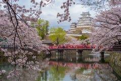 Замок Himeji в hyogo, kansai, Японии Стоковое Изображение