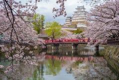 Замок Himeji в hyogo, kansai, Японии Стоковое Фото
