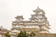 Замок Himeji, Япония Стоковые Изображения RF