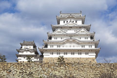 Замок Himeji, Япония стоковое фото