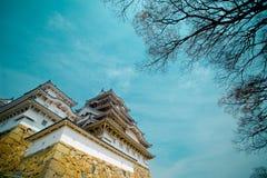 Замок Himeji стоковое изображение