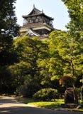 замок hiroshima Стоковые Изображения