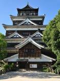 замок hiroshima Стоковая Фотография