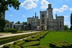 Замок Hluboka Стоковое Изображение RF