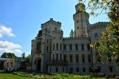 Замок Hluboka Стоковые Изображения